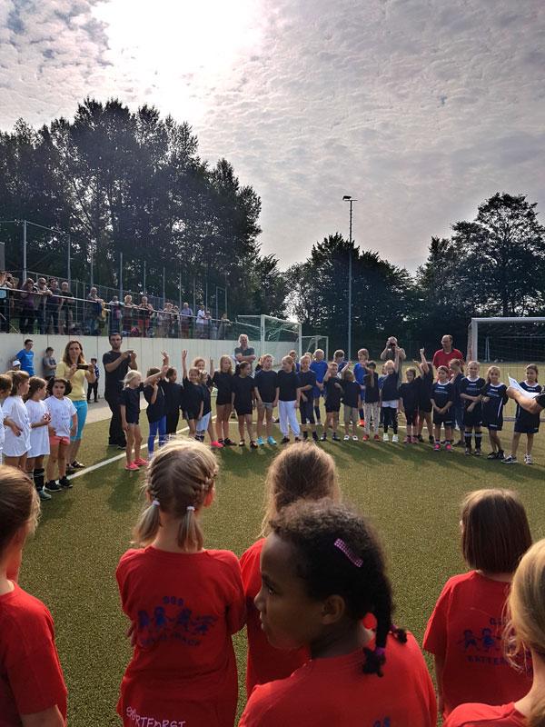 Mädchen-Fußballturnier