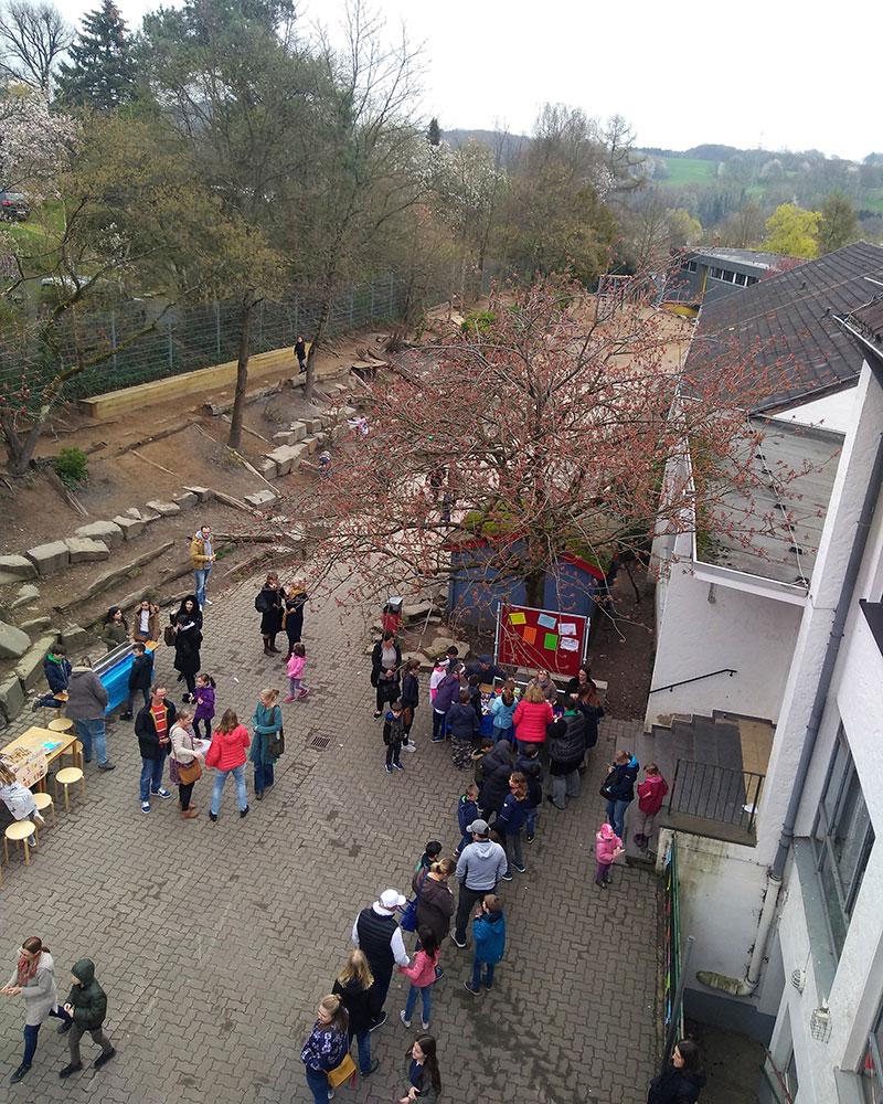 Frühjahrsfest in der GGS Rösrath