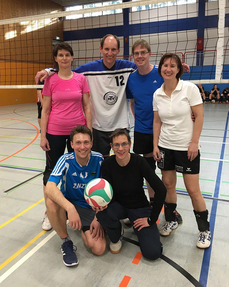 Besondere Auszeichnung bei der Volleyball-Stadtmeisterschaft