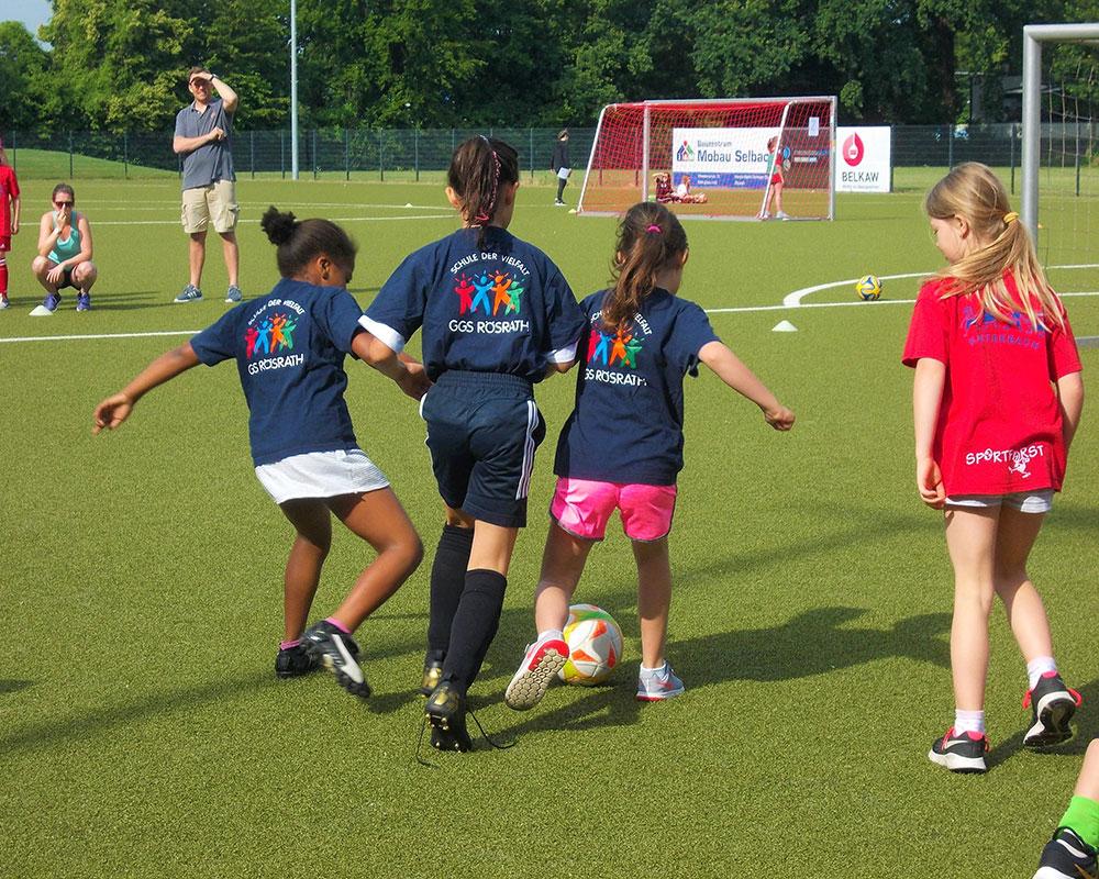 Ggs Rosrath Schule Der Vielfalt Madchen Fussball Meisterschaft