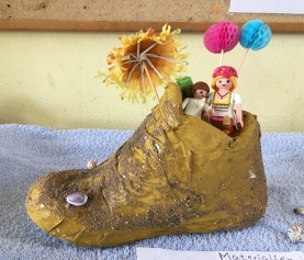 "Kunstprojekt ""Schuhe"""